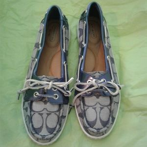 ⛵ Coach Richelle Signature Boat Shoes ⛵